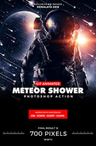 Animated Meteor Shower