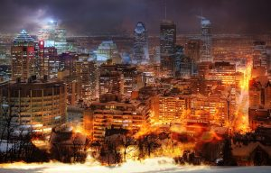 Montreal City Photo Montage 11