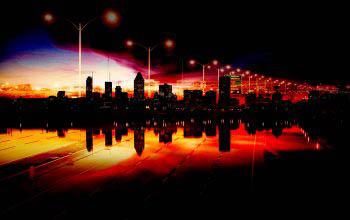 Montreal City Urban Montage 01