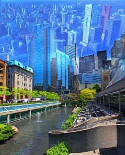 Toronto City Photo Montage