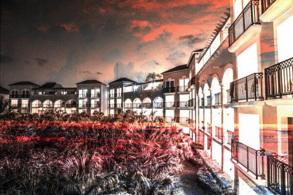 Hotel Resort Photo Montage 02