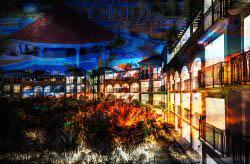 Caribbean Hotel Photo Montage