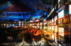 Caribbean Hotel Photo Montage