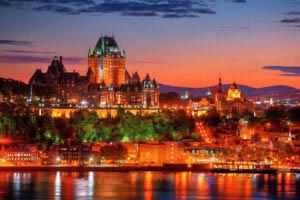 Quebec Frontenac Castle Montage 02