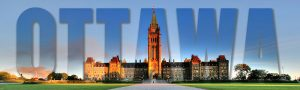 Federal Parliament with Ottawa Text 1