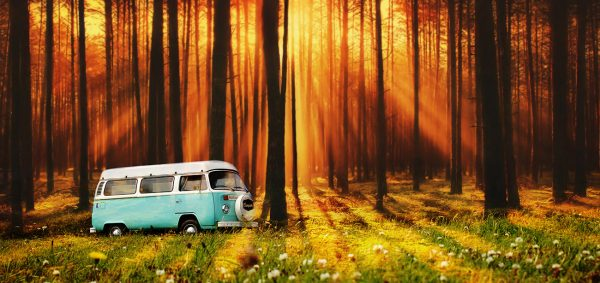 Vintage VW Camper Van Road Trip 07