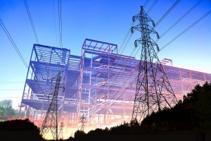 Construction Industry Electrification Concept