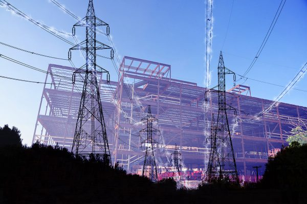 Construction Industry Electrification in Blue