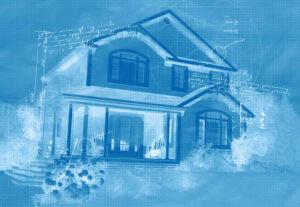 Cozy Home Construction Blueprint Design